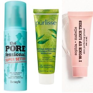 NWT 3 face priming/setting products